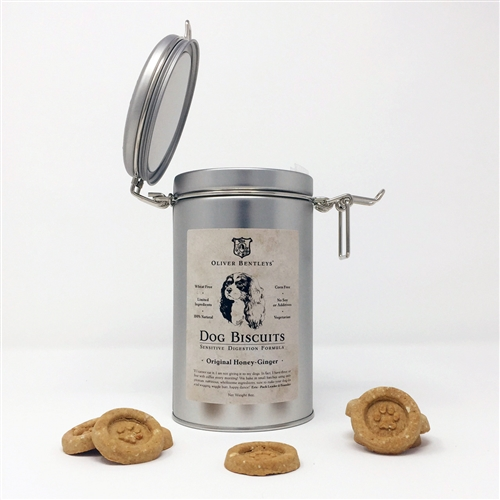 Keepsake Tin & Ollie B. Biscuits